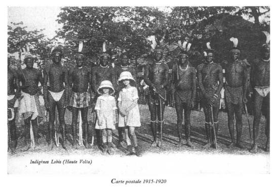 Peuple Lobi 1915-1920