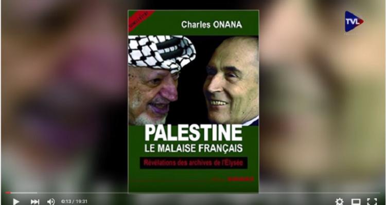 "Charles Onana :""Palestine, le malaise français"""