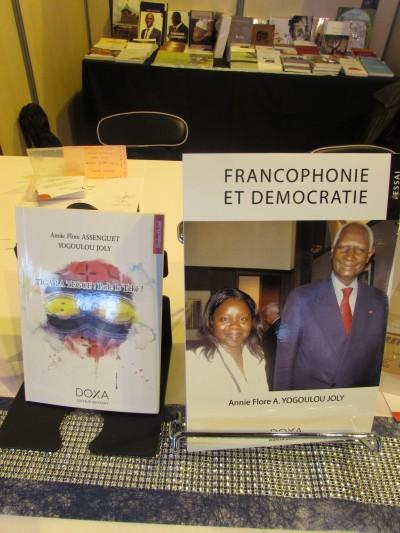 Francophonie et démocartie, Anne Flore Yogoulou Joly