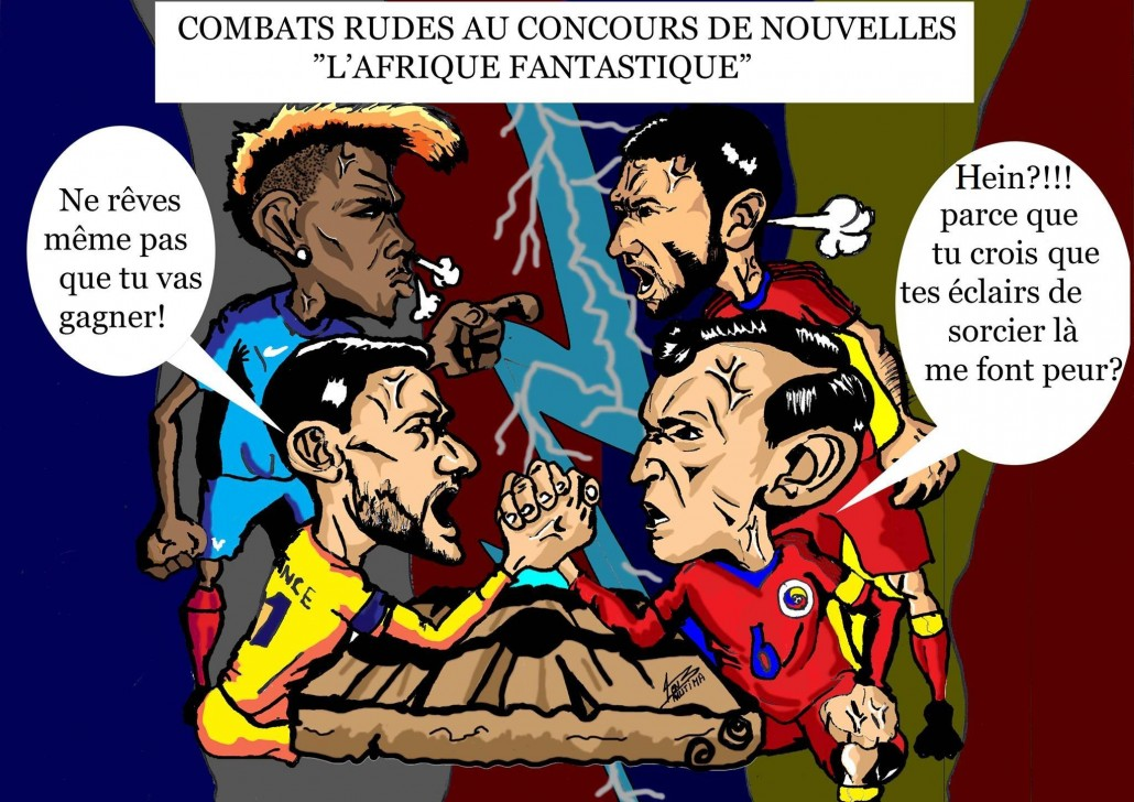 Caricature Euro2016_Afrolivresque