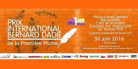 Prix International Bernard Dadié de la première plume