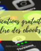 applications gratuites pour lire des ebooks