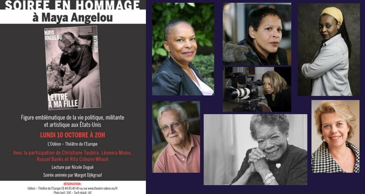 Soirée hommage Maya Angelou