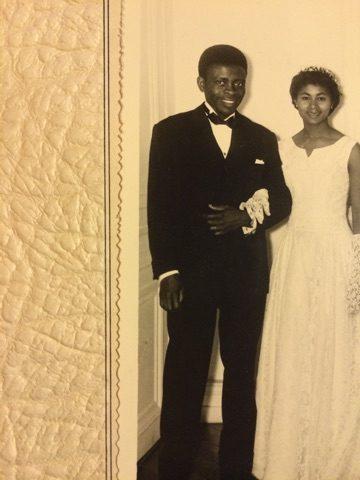 Francis Bebey et son épouse Madé