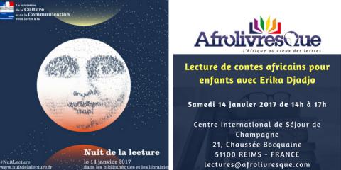 Nuit de la lecture - contes africains - Afrolivresque