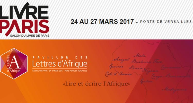 Pavillon lettres d'Afrique - Livre Paris