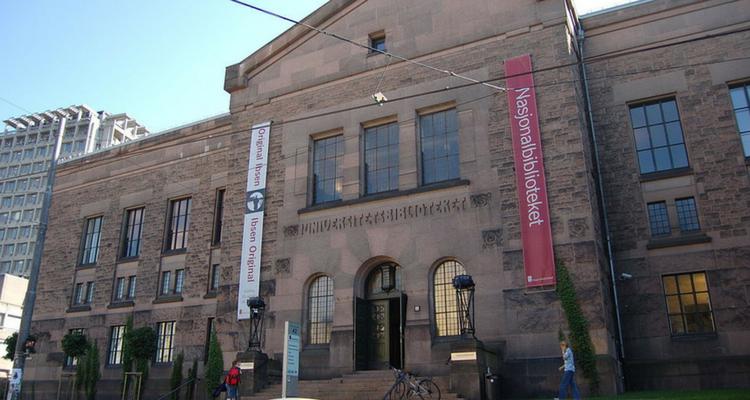 750 x 400 Bibliothèque nationale de Norwège