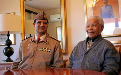 Lieutenant-General Vejay Ramlakan - Nelson Mandela