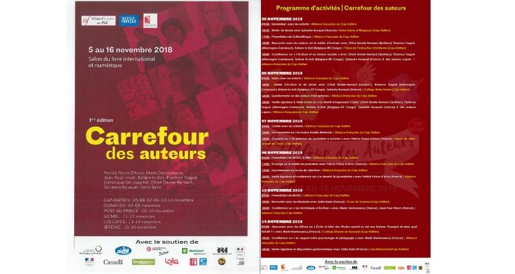 750 x 400 Carrefour des auteurs Haïti 2018