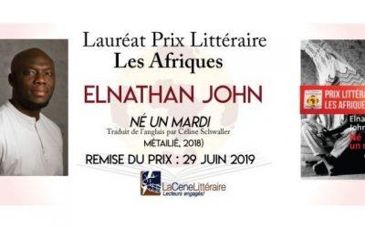 750 x 400 Prix les Afriques 2019 Elnathan John
