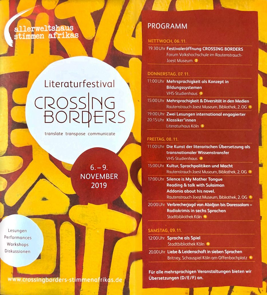 festival crossing borders