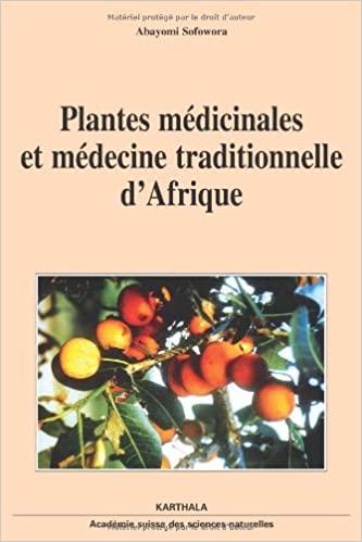 Plantes médicinales africaines-Abayomi Sofowora