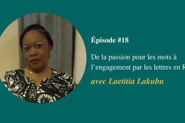 Épisode #18- Laetitia Lakubu - Visuel page du podcast